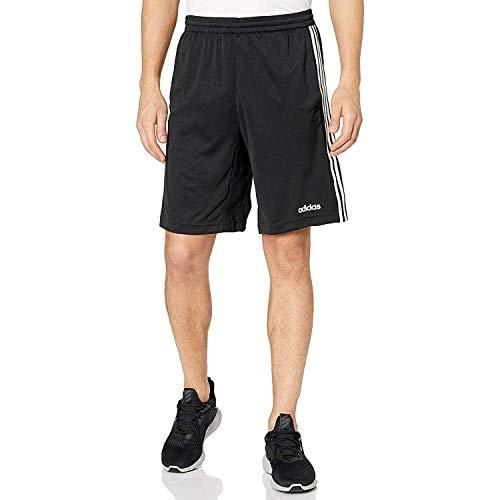 adidas Men's Design 2 Move Climacool 3-Stripes Training Shorts, Black, Large