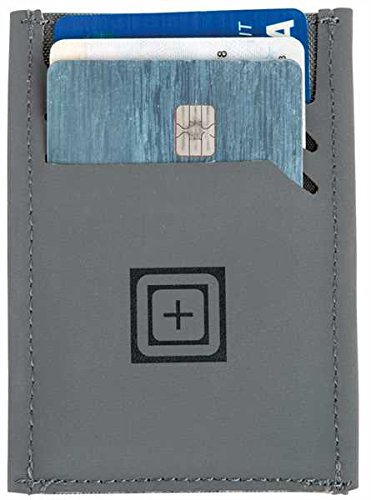 5.11 Tactical Card Case with Money Clip, Storm, One Size