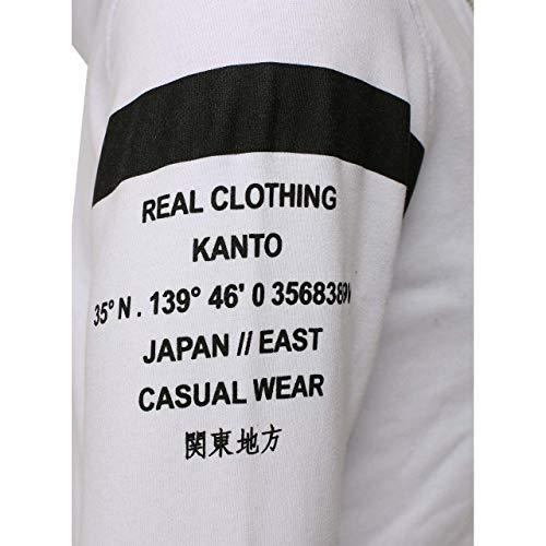 Hombre Para negro Tanaka Akito Blanco 106988 Cardigan w8II6