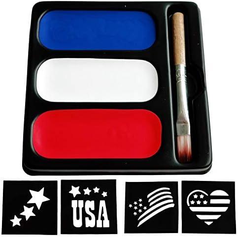 USA Colors Face Paint Palette product image