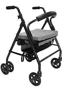 Andador para ancianos | Rollator de aluminio | Andador on ...