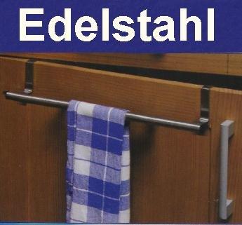 handtuchhalter edelstahl, zusatz handtuch halter für küche bad tür ... - Küche Handtuchhalter