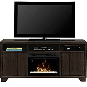 Dimplex Arkell Electric Fireplace Entertainment Center With Acrylic Ice Firebox