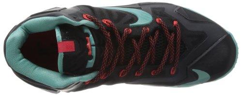 Diffused Nike Crimson Shoe Lebron Men's Black light Basketball XI Jade cr6rYwq4