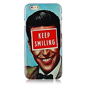 SHOUJIKE Keep Smiling Pattern Hard Back Case for iPhone 6