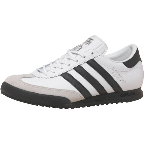 f254456693f4 Mens adidas Originals Beckenbauer All Round Trainers White Black Guys Gents  (12 UK 12 EUR 47.7)  Amazon.co.uk  Shoes   Bags