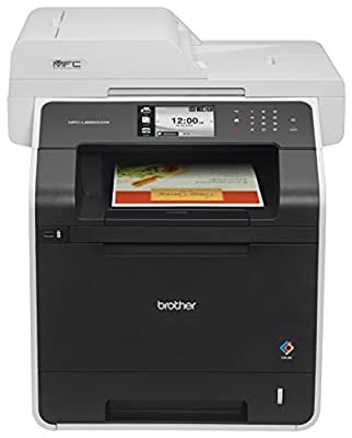 Brother Printer RMFCL8850CDW Refurbished Wireless Color Printer with Scanner, Copier & Fax