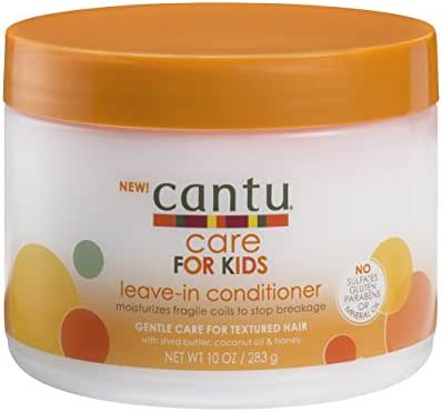 Hair Styling: Cantu for Kids Leave-In Conditioner