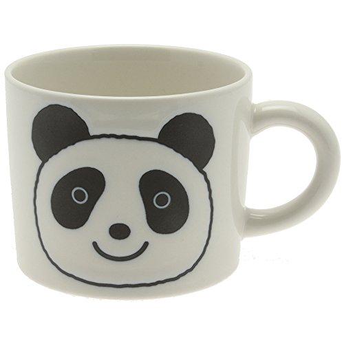 1 Pc Japanese Pure White Panda Face Mug for Made in Japan (Panda Face Mug)