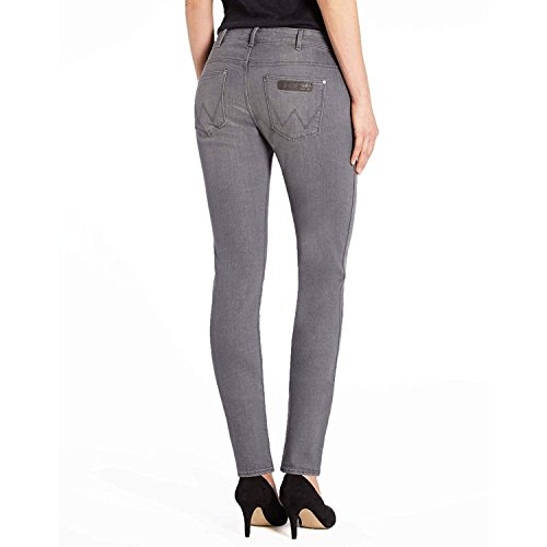 Gris Slate Grey Wrangler Jeans Femme 63F x71REvw