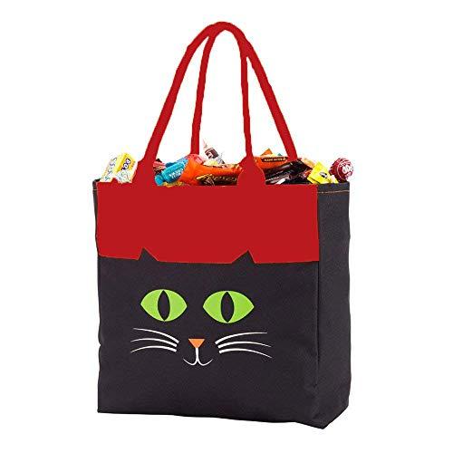 DGZC Halloween Bucket Trick or Treat Bag Reusable
