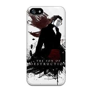JessePhoneacc NKY-73-TSu Case Cover Iphone 5/5s Protective Case Bleach Aizen Sousuke