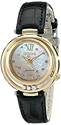 Citizen Eco-Drive Women's EM0322-02Y Citizen L Sunrise Analog Display Black Watch