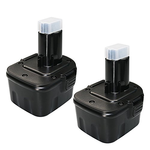 12 Volt 3.6Ah for Dewalt 12V Battery XRP DW9072 DC9071 DW9071 DE9037 DE9071 DE9072 DE9074 DE9075 152250-27 397745-01 dc727 Dewalt 12 volt Cordless Power Tool Replacement batteries 2 Pack