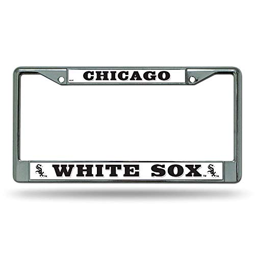 MLB Chicago White Sox Chrome License Plate Frame