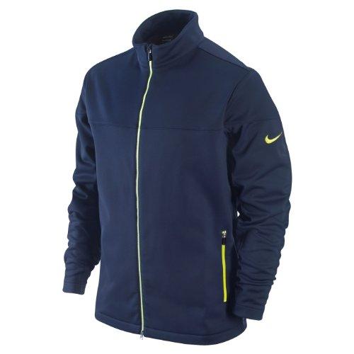 Nike Golf Men's Windproof Thermal Jacket, Binary Blue, Large -