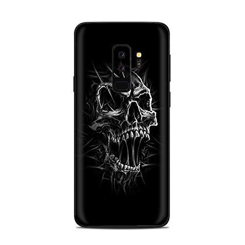 (It's A Skin Decal Vinyl Wrap for Samsung Galaxy (S9 Plus S9+ only) Phone Stickers Skins Cover/Skull Evil Stretch Slash Screaming)