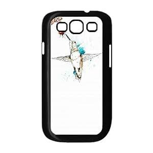 Beautiful HummingbirdPattern Hard Plastic Back Phone Case for Samsung Galaxy Case S3 HSL414909