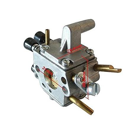 Générique carburador Carb Para Stihl FS 120 R FS200 FS250 300 350 Trimmer New 4134 120 0653