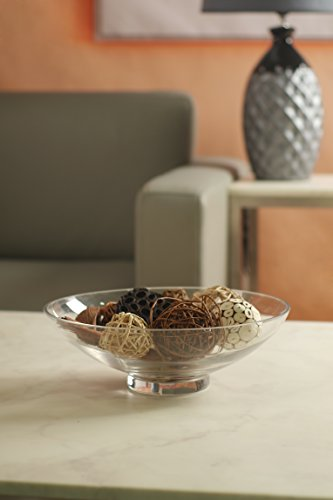 Review Hosley Clear Glass Bowl,