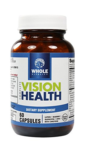 Complete Vision Health, with FloraGLO® Lutein, 15 Essential Eye Vitamins for Macular Care, 60 Capsules