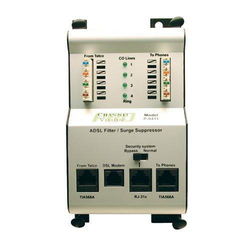 Channel Vision P-0411 Whole House DSL Filter & Phone Surge
