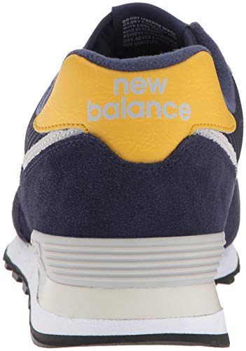 Yellow Brass Ml574v2 Balance Smb Baskets New Bleu Pigment Homme xvazqxYwH