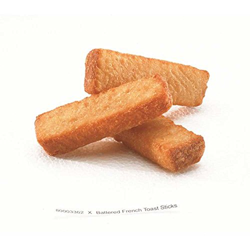 McCain Grabitizer Battered French Toast Stick, 2 Pound -- 5 per case.