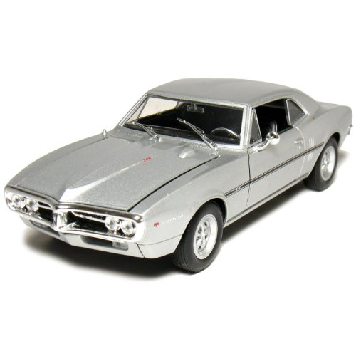 Welly 1967 Pontiac Firebird Hard Top 1/24 Scale Diecast Model Car Silver (Pontiac Firebird Model compare prices)
