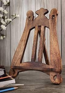 Store Indya, Leggio da cucina in legno intagliato a mano della ...