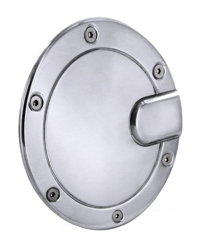 - All Sales 6053P Polished Billet Aluminum Fuel Door
