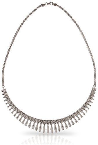 SilverLuxe 925 Sterling Silver Rhodium Plated Collar Style Cleopatra Necklace by SilverLuxe