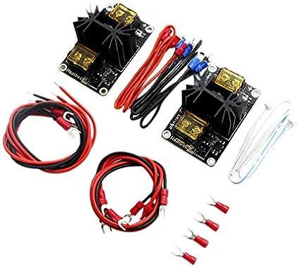VYNBDA 2 Unids/Set Accesorios de Impresora 3D 30A Mos Cama de ...
