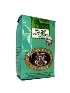 Organic Water Process Decaf (French Roast) - Ground Coffee for Drip - 10oz, Decaf