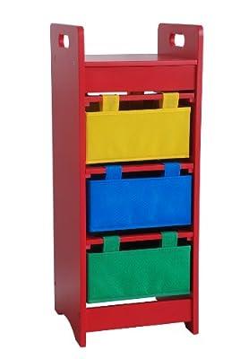 Beck Children's Primary Color Toy Bin Organizer