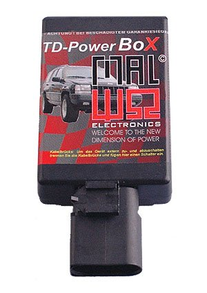 TDUPowerBox Diesel Chiptuning Modul passend fü r BMW525 TDS 105 KW / 143 PS / 280 Nm MAL Electronics GmbH
