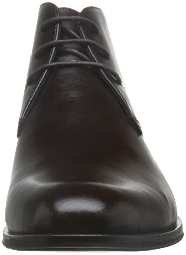 Stacy Adams Hombres Strickland Plain Toe Chukka Bota Marrón