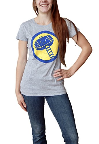 Thor Womens Beanies (Marvel Thor Logo Juniors T-shirt S)