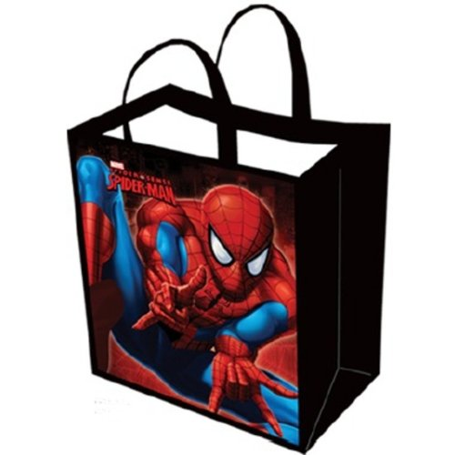 Marvel Comics Spiderman Large Tote Bag Hero
