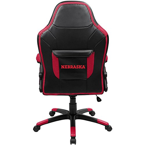 Imperial INTERNATIONAL NEBRASKA CORNHUSKERS OVER SIZED GAMING CHAIR by Imperial