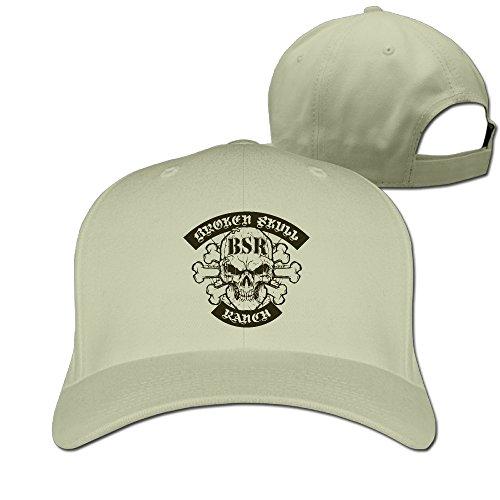Classic Broken Skull Ranch Sun Cap Men Peaked Adjustable - Cap Classic Skull