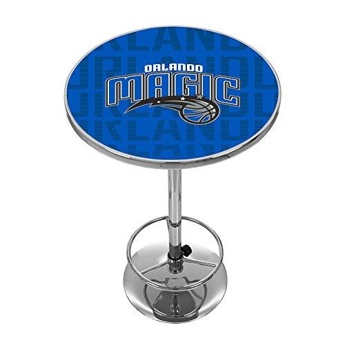 Trademark Gameroom NBA2000-OM3 NBA Chrome Pub Table - City - Orlando Magic (City Furniture Orlando)