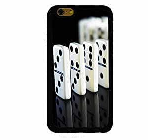 Dominos iphone 4s ( inch screen) Rubber Case