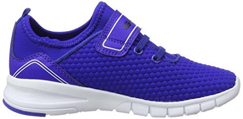 Gola Apex Lite Velcro, Zapatillas Deportivas Para Interior Unisex Niños Azul (Blue/white/black)