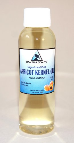 Apricot Kernel Oil Organic Carrier Cold Pressed 100% Pure 2 oz