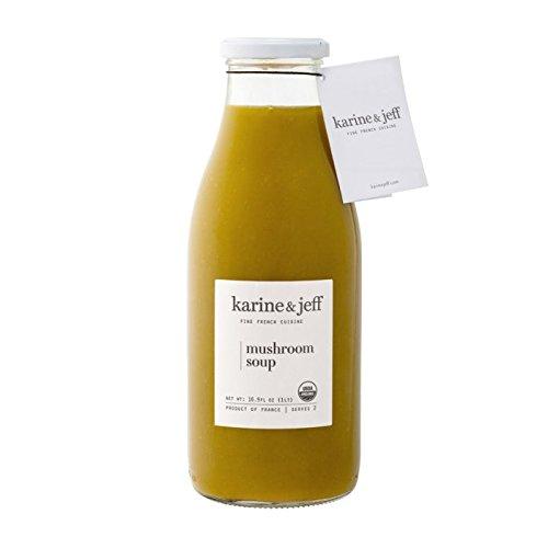 Karine & Jeff Mushroom Soup - Organic - Gluten Free - Vegan Ingredients | 16.9 oz