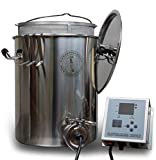 Complete Homebrew Beer Brewing System, Digital, Electric,...