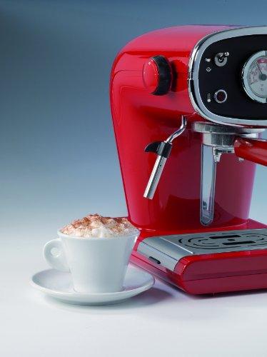 Espressione-DeLonghi of Italy New Café Retro Espresso Machine, Red by Espressione-DeLonghi of Italy (Image #1)