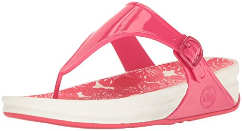 FitFlop Mujeres Raspberry Superjelly Chanclas 093 Raspberry
