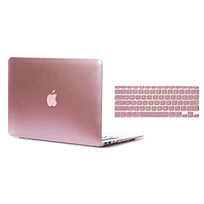 """2 in 1 Macbook Air 13"""" Soft-Skin Plastic Hard Case Cover & Keyboard Cover & Screen Protector for Macbook Air 13"""" NO CD-ROM (A1369/A1466) from Shenzhen Dwon Technology Co., Ltd."""